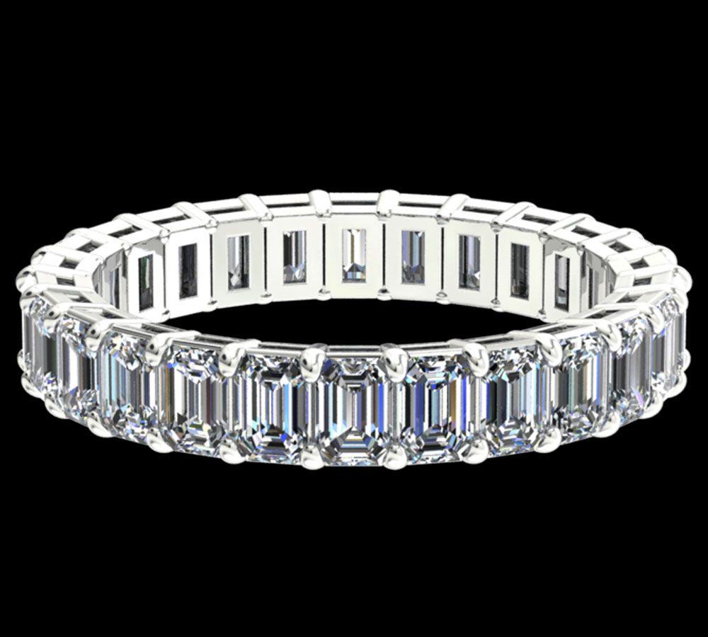 Alliance Diamant Classique Emerald Cut