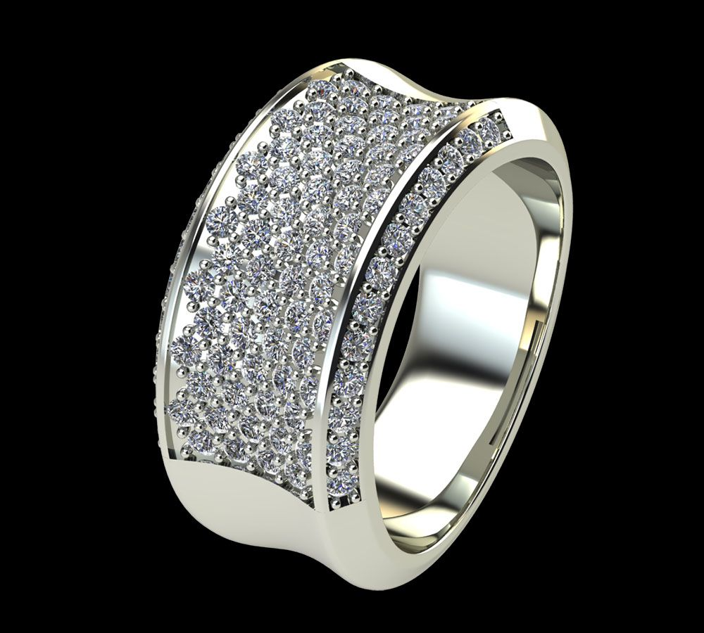 Bague Diamant Versailles