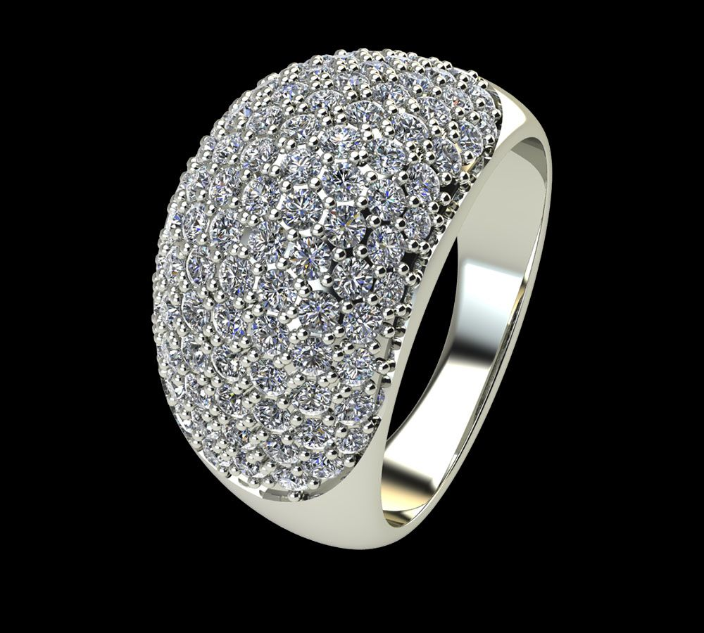 Bague Diamant Monarch