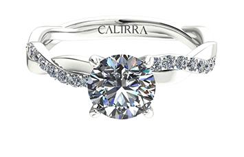 Solitaire infini diamant Round cut