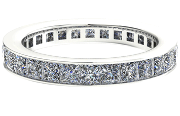 Alliance Diamant Classique Princess Cut