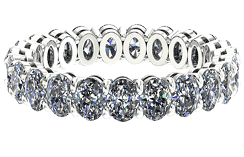 Alliance Diamant Classique Oval Cut