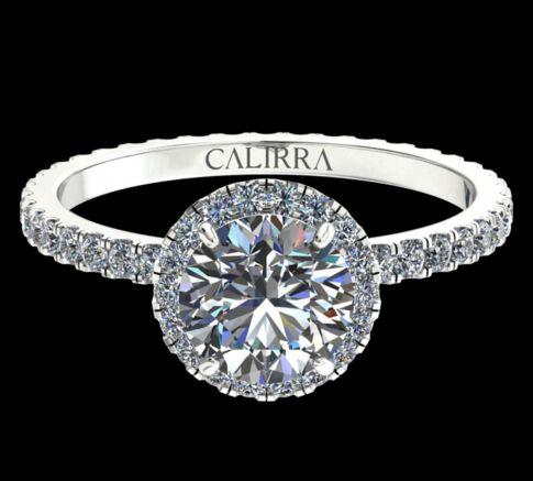 Solitaire Elyse diamant Round cut