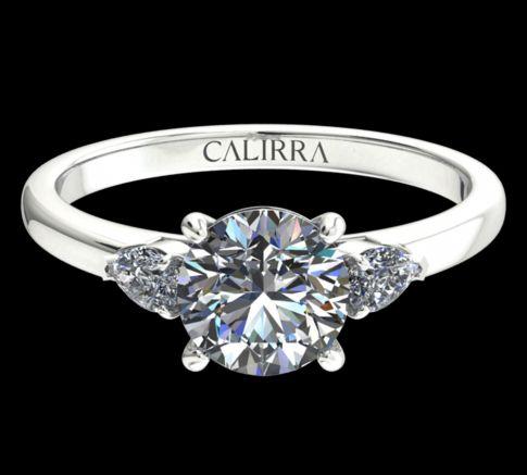 Solitaire Diana Diamant Rond