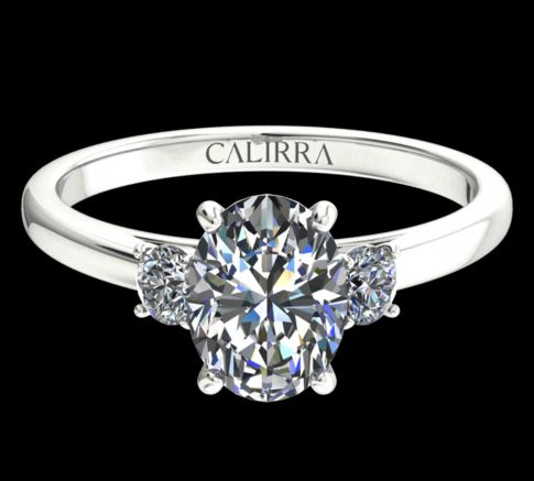 Solitaire Marie Diamant Oval cut