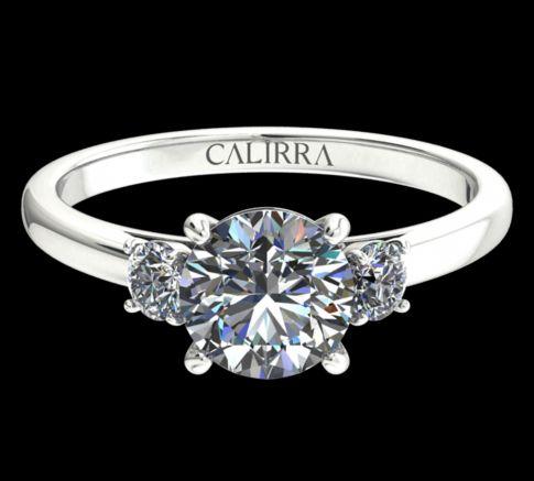 solitaire Marie diamant Rond