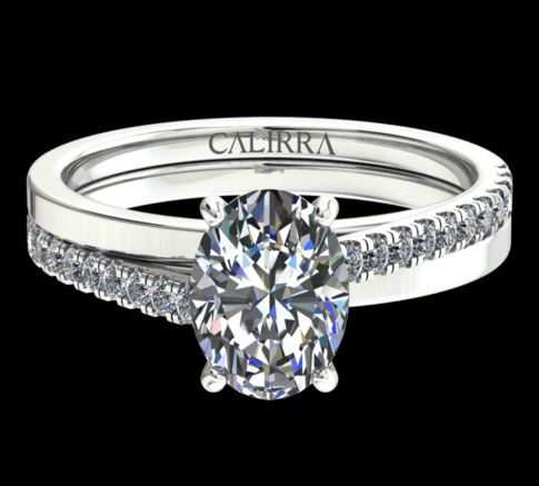 Solitaire Julia Diamant Oval cut