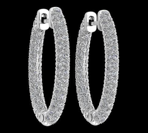 Creoles Diamant Olympia