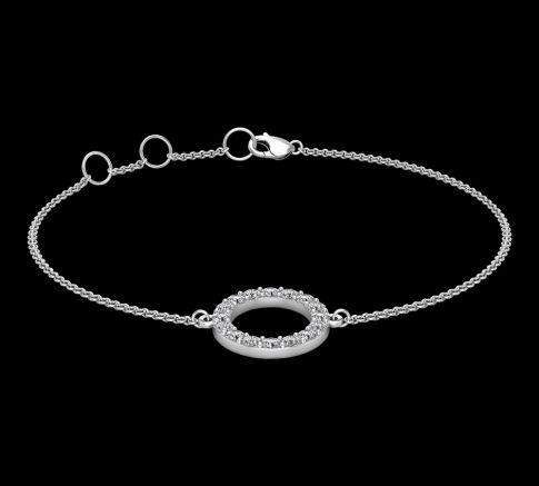 Bracelet Diamant Circle