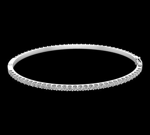 Bracelet Diamant Rigide