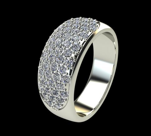 Bague Diamant Eclipse