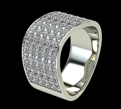 Bague Diamant Kennedy