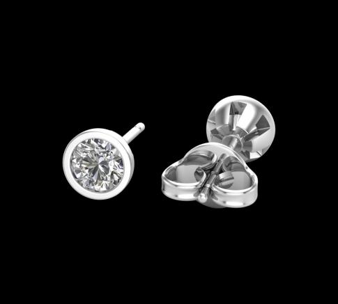 Puces d'oreilles Ayline Diamant
